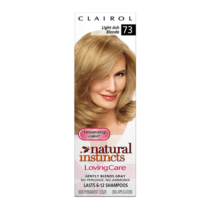 Clairol Natural Instincts Loving Care Color, 073 Light Ash Blonde (Pack of 3) -- This is an Amazon Affiliate link. Click image to review more details.