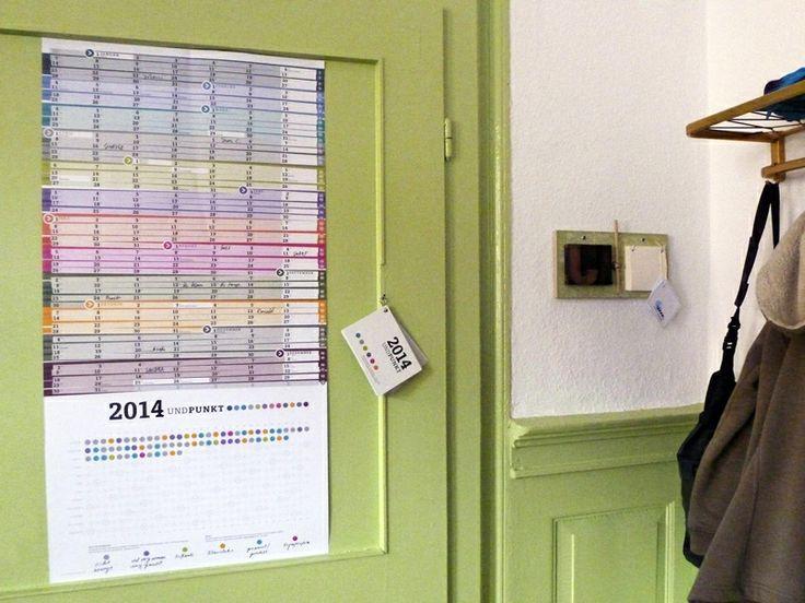 großer+Wandkalender+2014+(A1+)+von+sperlingB.design+auf+DaWanda.com