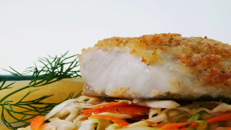 Salt and Vinegar Chip-Crusted Walleye