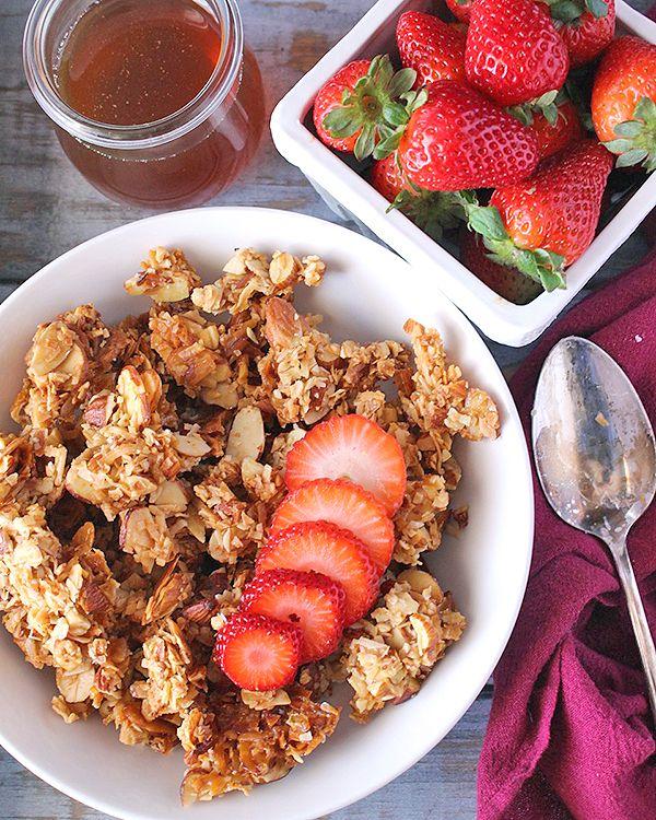 Paleo Honey Almond Granola
