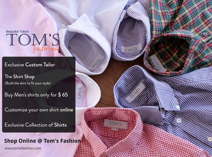 Now Shop online with Tom's Fashion Visit http//bit.ly