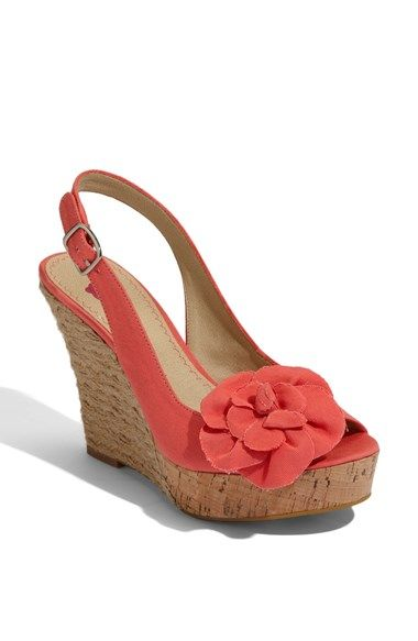 Free shipping and returns on BP. 'Blooms' Espadrille Slingback Sandal at Nordstrom.com. A perky grosgrain flower tops a slingback espadrille sandal finished with a lofty platform wrapped in cork and rough-hewn rope.