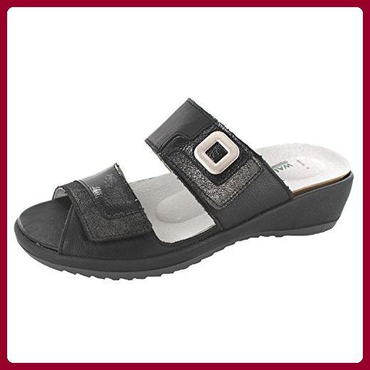 Comfort Line Damen Clogs & Pantoletten, Schwarz - Schwarz - Größe: 35