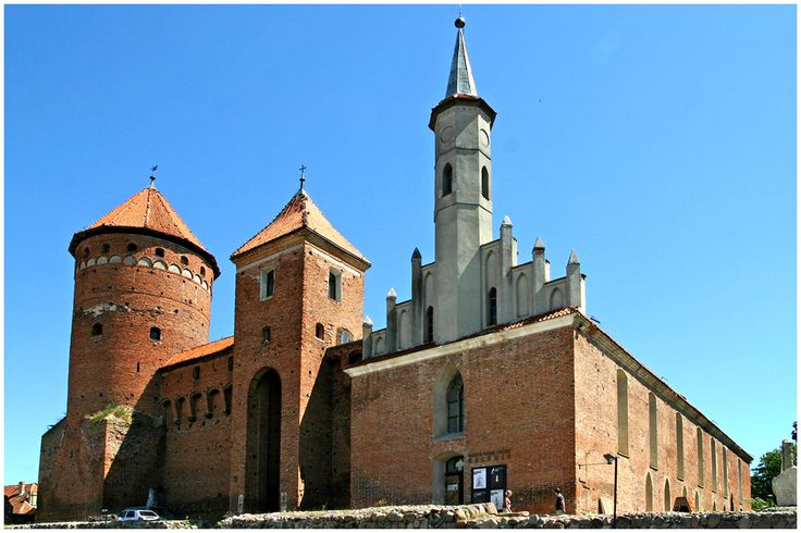 Die Gotische Burg Reszel (Rössel)