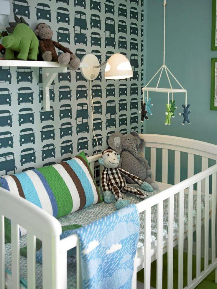 #jongenskamer #boysroom Behang van #fermliving