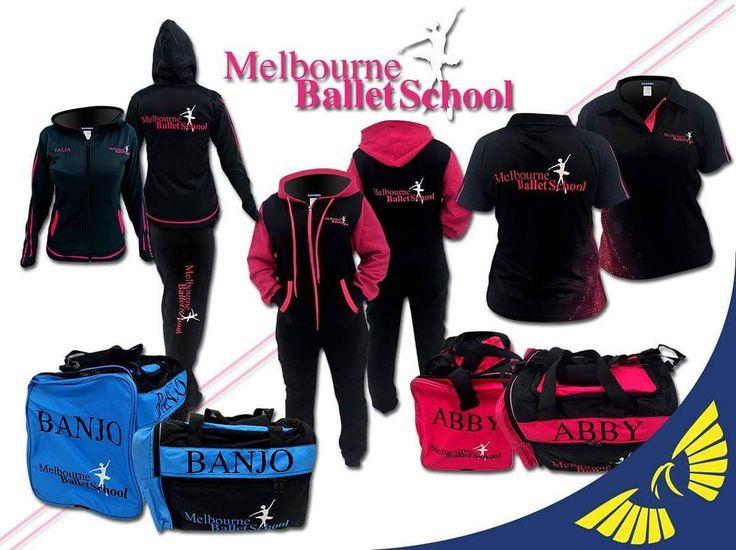 #melbourneballetschool #onesies #hoodie #jacket #polos #leggings #bags