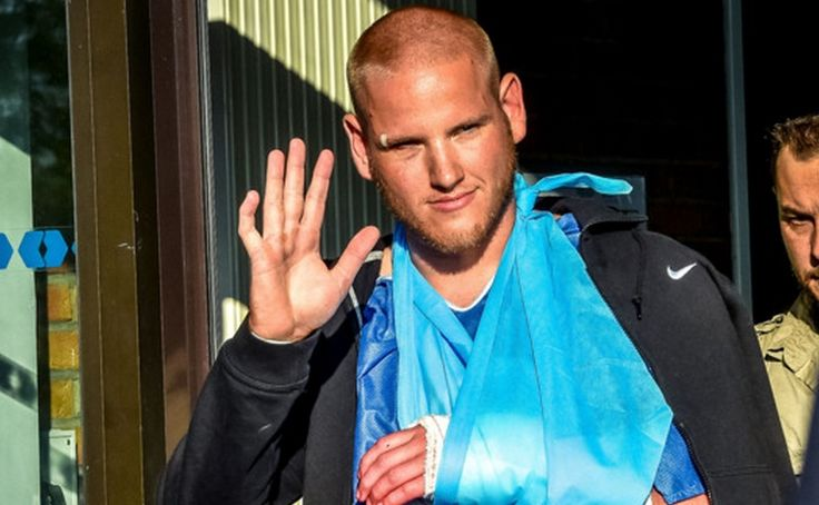 The American hero, Spencer Stone, was repeatedly stabbed this morning in Sacramento, CA after getting into an altercation and trying to protect a friend. (what are the chances of this? This is suspicious, first Skarletta's home town attacked, now Stone..coincidence ?
