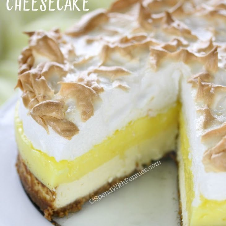 Lemon Meringue Cheesecake Recipe ~
