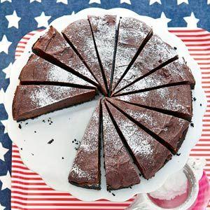 Mississippi Mud Pie - Iets minder honing nemen dan in het recept staat (bij mij 'liep' de bovenlaag van de taart), maar ook deze is weer super!