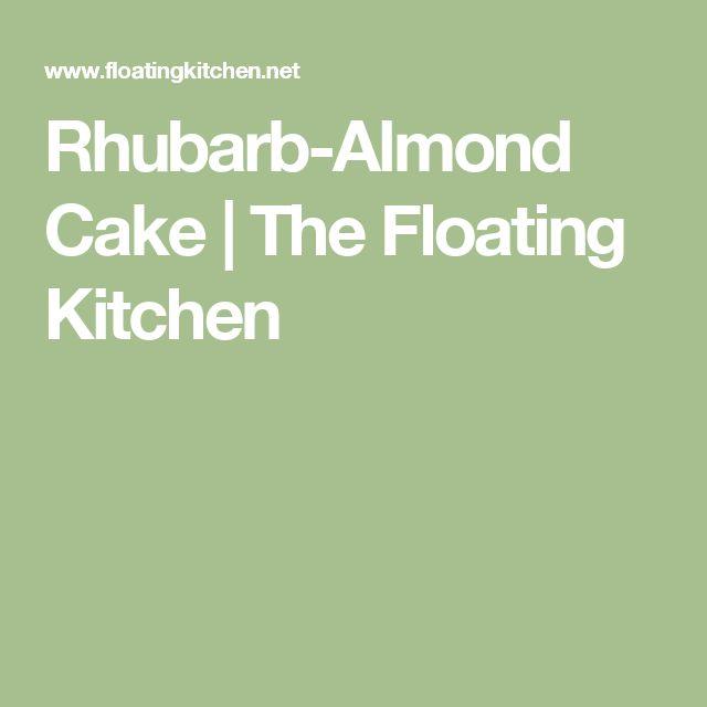 Rhubarb-Almond Cake | The Floating Kitchen