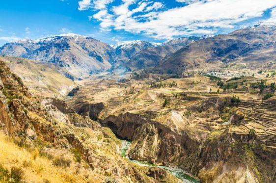 Colca Canyon, Peru.