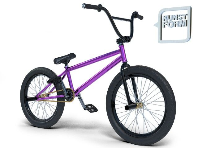 Violeta Custom BMX Bike | kunstform BMX Shop & Mailorder - worldwide shipping