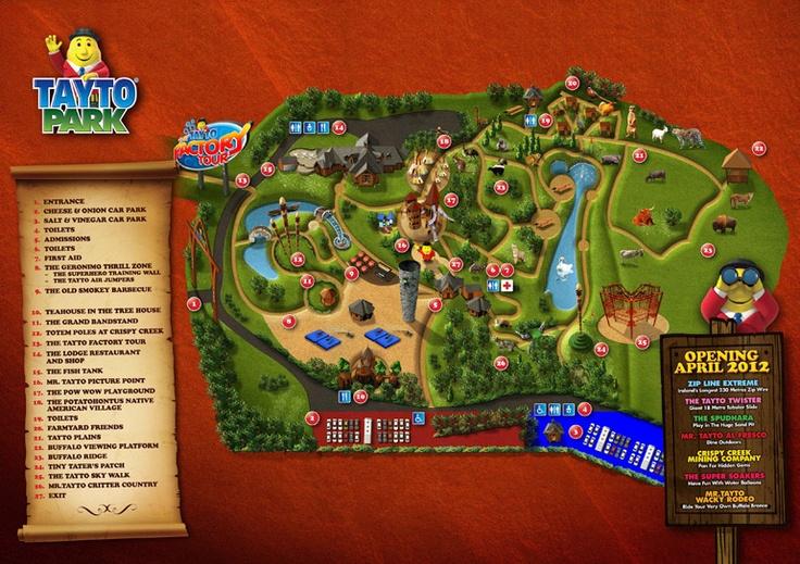 Tayto Park Map