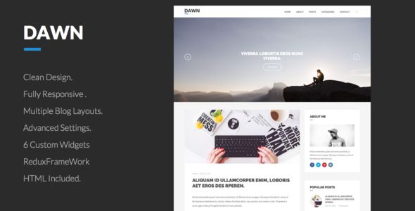 [GET] Dawn .. Clean WordPress Theme For Blogs (Blog / Magazine) - NULLED - http://wpthemenulled.com/get-dawn-clean-wordpress-theme-for-blogs-blog-magazine-nulled/