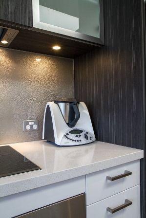 Modern kitchen. Thermomix. www.thekitchendesigncentre.com.au