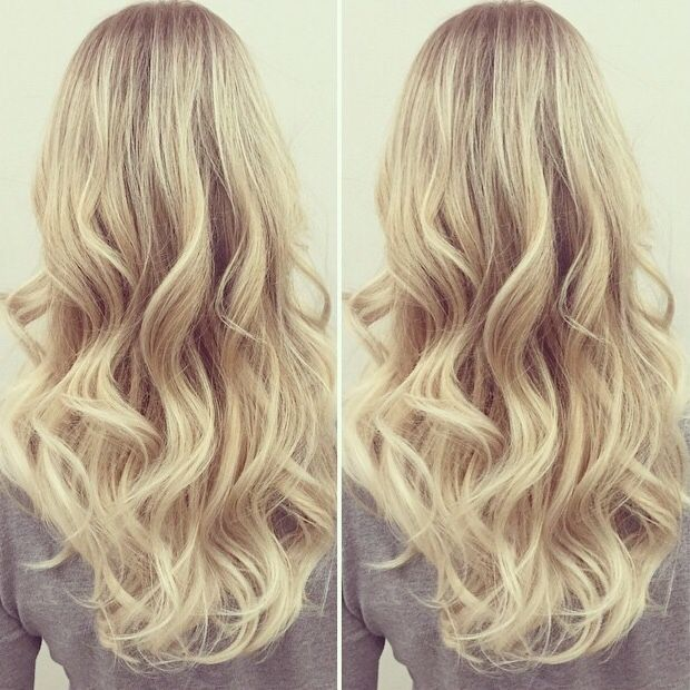 Lovely curls using the Ghd Classic tong