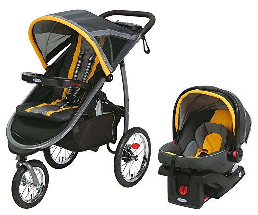 Graco Aire3 Click Connect Travel System Stroller Zeus Graco