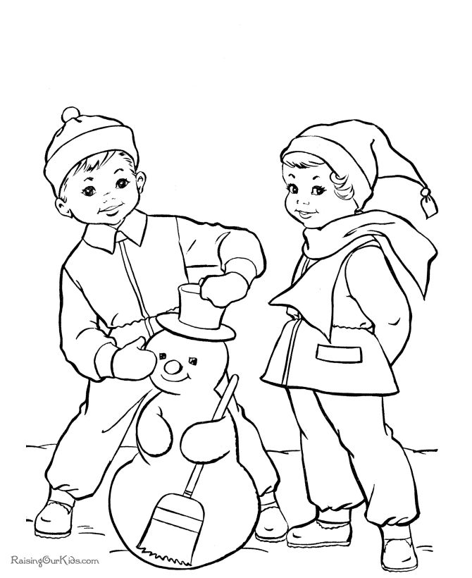 These Free Printable Snowman Coloring Pages Are Just A Few Of The Many Sheets And Pictures In This Section
