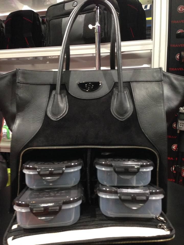 Meal Prep and a Purse in one! I would love this however it does't seem to be in stock... :(