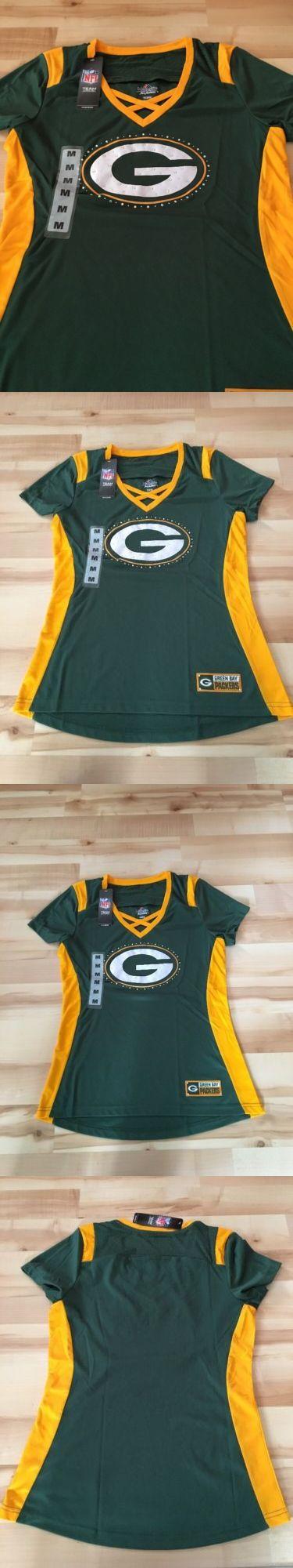 Women 159110: Women S Majestic Green Bay Packers Draft Me Tee Size Medium Nfl Rhinestones -> BUY IT NOW ONLY: $32.99 on eBay!