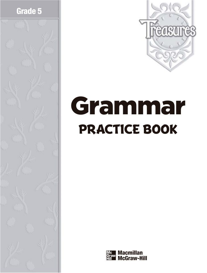 English grammar 5th grade