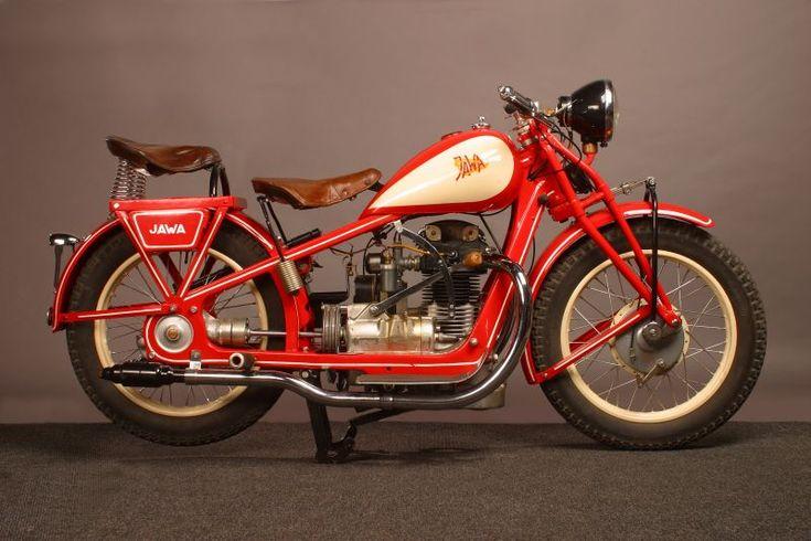 1929 JAWA 500cc OHV Motorcycle