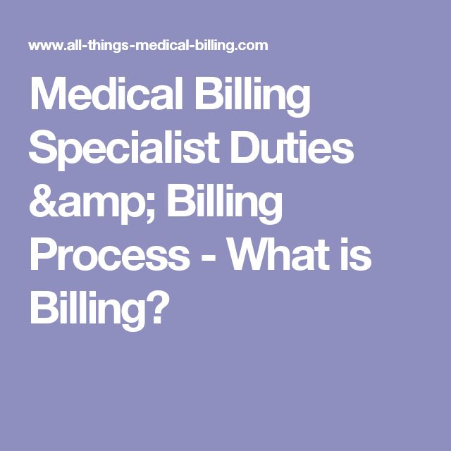 what is medical billing find out what the typical duties of the medical billing specialist are details on the responsibilities of the medical insurance - Medical Billing And Coding Duties And Responsibilities