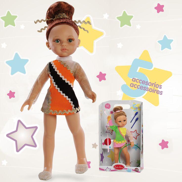 Muñeca gimnasta. #dolls #gimnasiaritmica #ritmica #gimnasia
