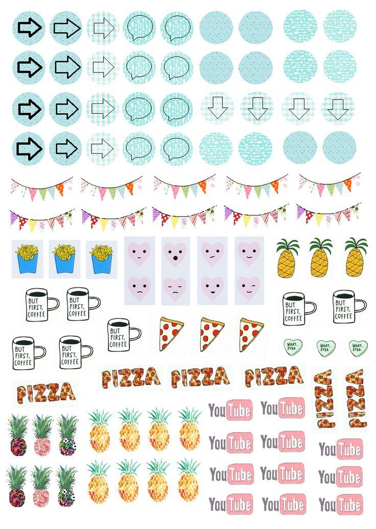 M s de 25 ideas incre bles sobre pegatinas en pinterest pegatina pegatinas imprimibles y - Pegatinas para decorar ...