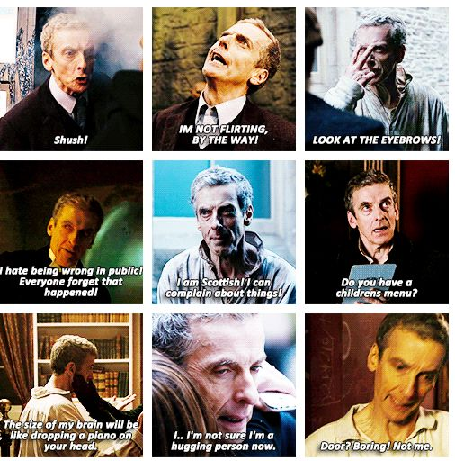 i think i just got a new favorite doctor!! oh peter, u saucy minx you...