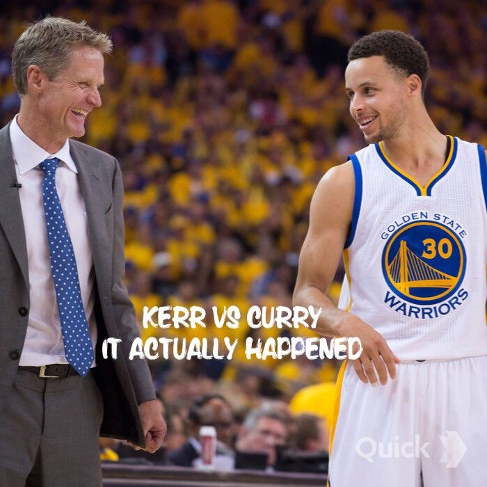 Non Stop Competition for the Warriors: Kerr vs Curry — Give Me a Sense — Medium