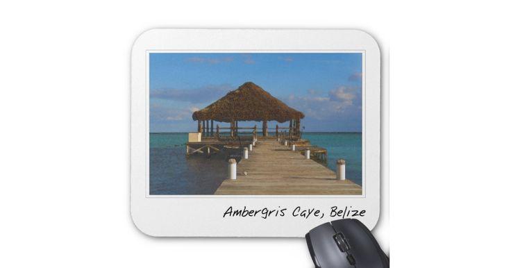 Ambergris Caye… mousepads, travel mousepads, international mousepads, gel mousepads, ergo mousepads, art mousepads, watercolor mousepads