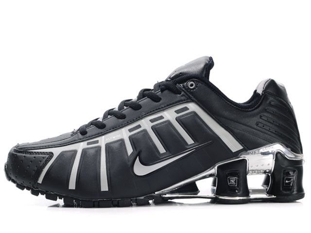 Chaussures Nike Shox NZ Noir/Gris/Argent [nike_12068] - €45.92 : Nike Chaussure Pas Cher,Nike Blazer and Timerland  http://www.facebook.com/pages/Chaussures-nike-originaux/376807589058057