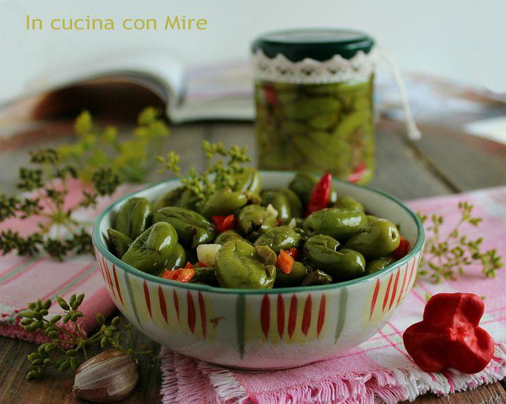 Olive schiacciate alla calabrese | In cucina con Mire