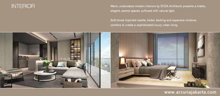 Arzuria Apartment Jakarta Interior Design Example