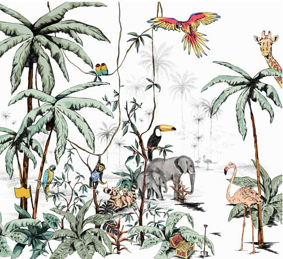 Image Papier Peint Jungle