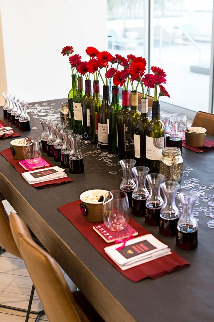 you have to see this diy wine tasting bachelorette party