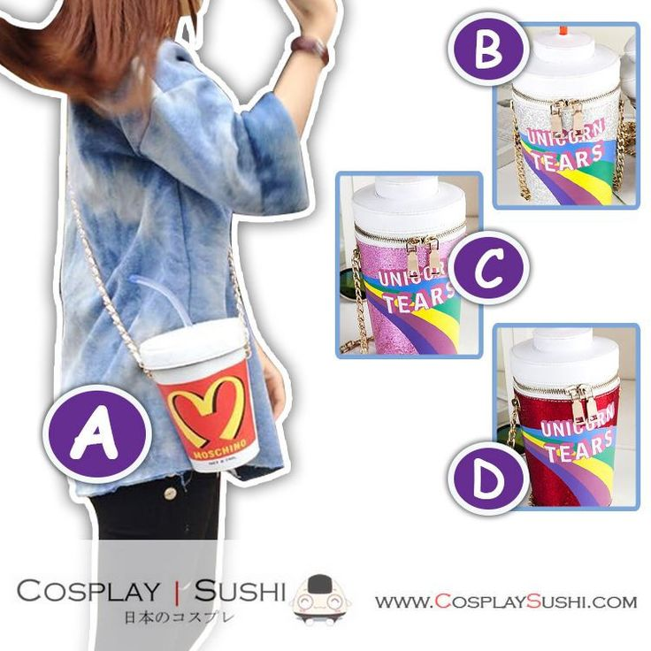 Get our NEW Fancy Elegant Shoulder Bag! SHOP NOW ► http://bit.ly/1Opcqez Follow Cosplay Sushi for more cosplay ideas! #cosplaysushi #cosplay #anime #otaku #cool #cosplayer #cute #kawaii #Harajuku #shoulderbag #bag #amazing #awesome #fashion #design #style