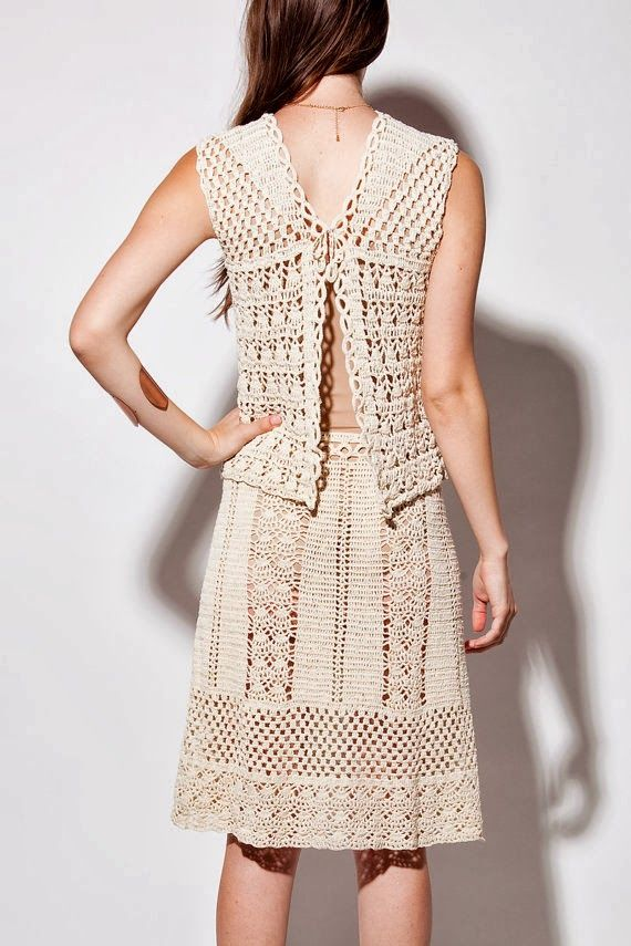 Crochetemoda: - lot's of patterns (with diagrams only)