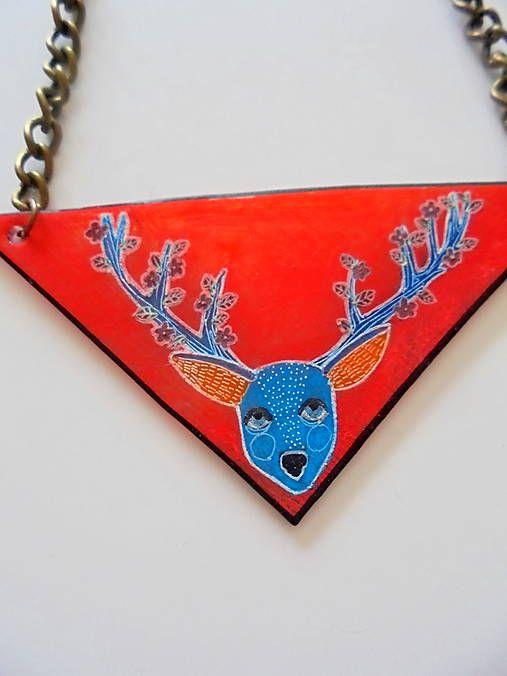 Rokalo / Jeleň- náhrdelník