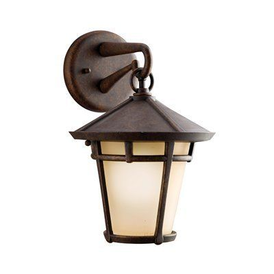 Kichler Lighting 9052AGZ Melbern Outdoor Sconce, Aged Bronze   Lighting  Universe