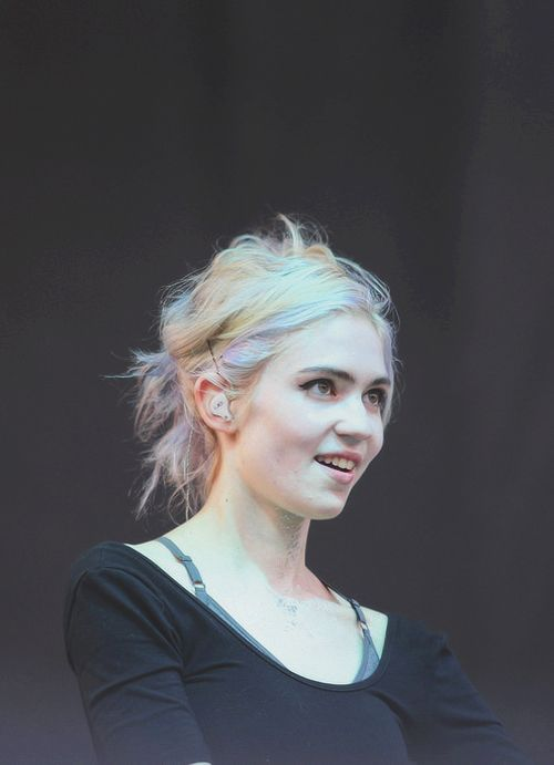 Grimes. Singer. Songwriter. Producer. Music video director ...