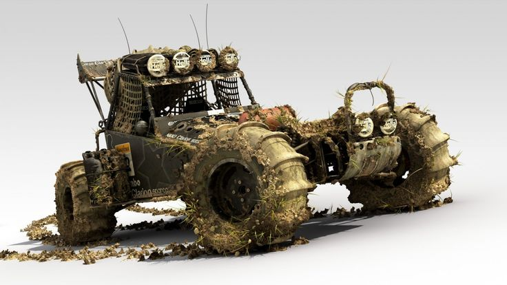 Mud Buggy Offroading Cars Vehicles Offroad