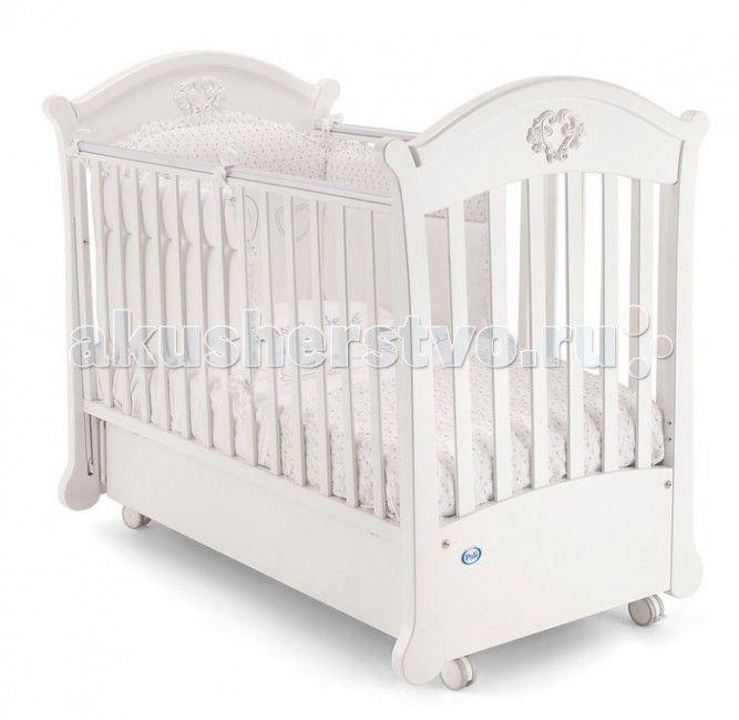 Детска кроватка Pali Angelica поперечный матник  Детска кроватка Pali Angelica поперечный матник   С лёгкость станет украшением лбого интерьера, обеспечит ребёнку здоровый и крепкий сон и станет незаменимым помощником в ежедневном уходе за младенцем. Самое главное свойство детской кроватки - безопасность.   Материал кроватки - выдержанный бук, твердый и прочный, он не рассыхаетс и не отсыревает. Краски и лак, которыми покрыта кроватка, нетоксичны и не создат вредных испарений.   Особенности…