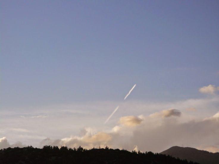 Καλό χειμώνα... και ξεκινάμε με on/off αεροψεκασμό.... | Χημικοί Αεροψεκασμοί - Chemtrails