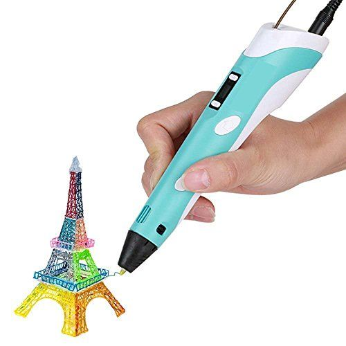 Ipeson 3d Stereoscopic Printing Pen for 3d Drawing Doodling (blue) iPeson…