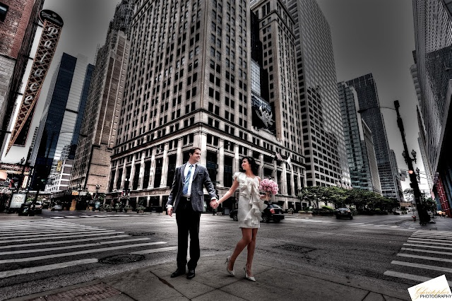 Chicago Wedding Engagement Photo HDR - Christopher F. Photography