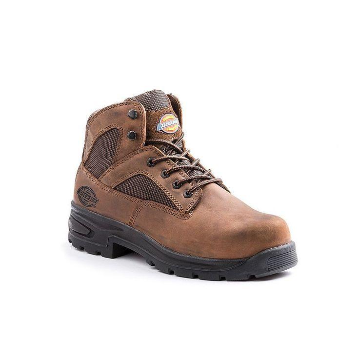Dickies Buffer Men's Steel-Toe Boots, Size: medium (10.5), Brown