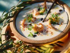 Cremesuppe mit Garnelen ist ein Rezept mit frischen Zutaten aus der Kategorie Garnelen. Probieren Sie dieses und weitere Rezepte von EAT SMARTER!