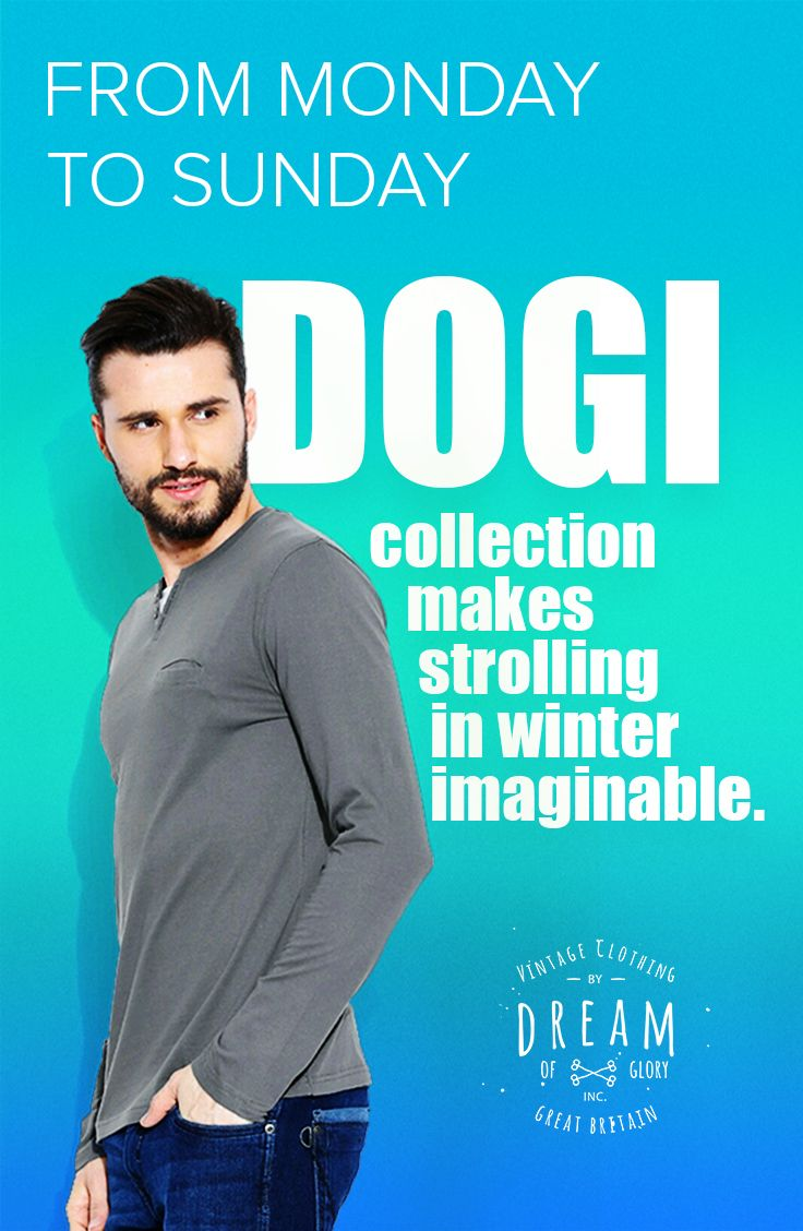 The DOGI collection is making a Major statement... Be sure to stay in the coolest trend. Check it out now: http://bit.ly/1RghS5W